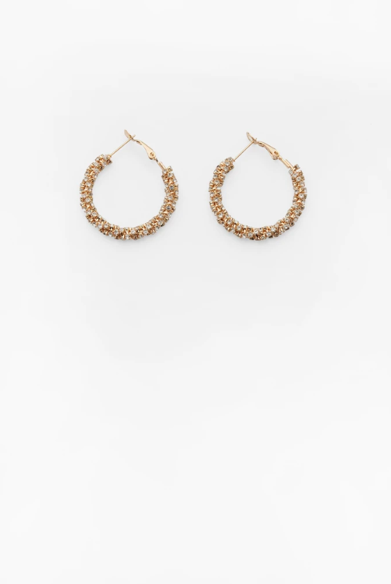 Reliquia Bond Street Hoops in Gold