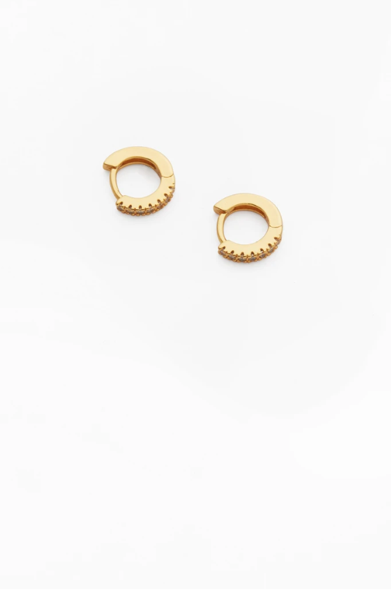 Reliquia Taylor Earrings Clear