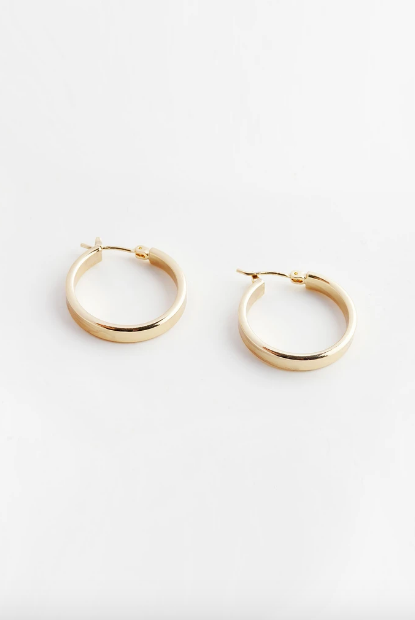 Reliquia Hoops in Gold