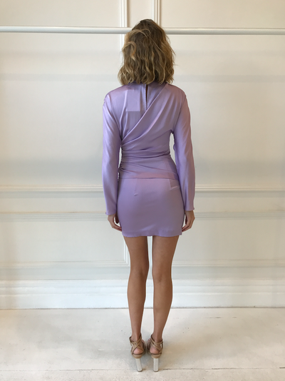 Nicola Finetti Georgy Dress in Lilac