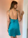 One Fell Swoop Audrey Mini Dress in Jade