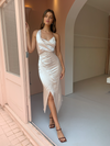 One Fell Swoop Muse Dress in Mother of Pearl