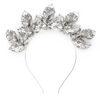 Kitte Midnight Crown Headpiece in Silver