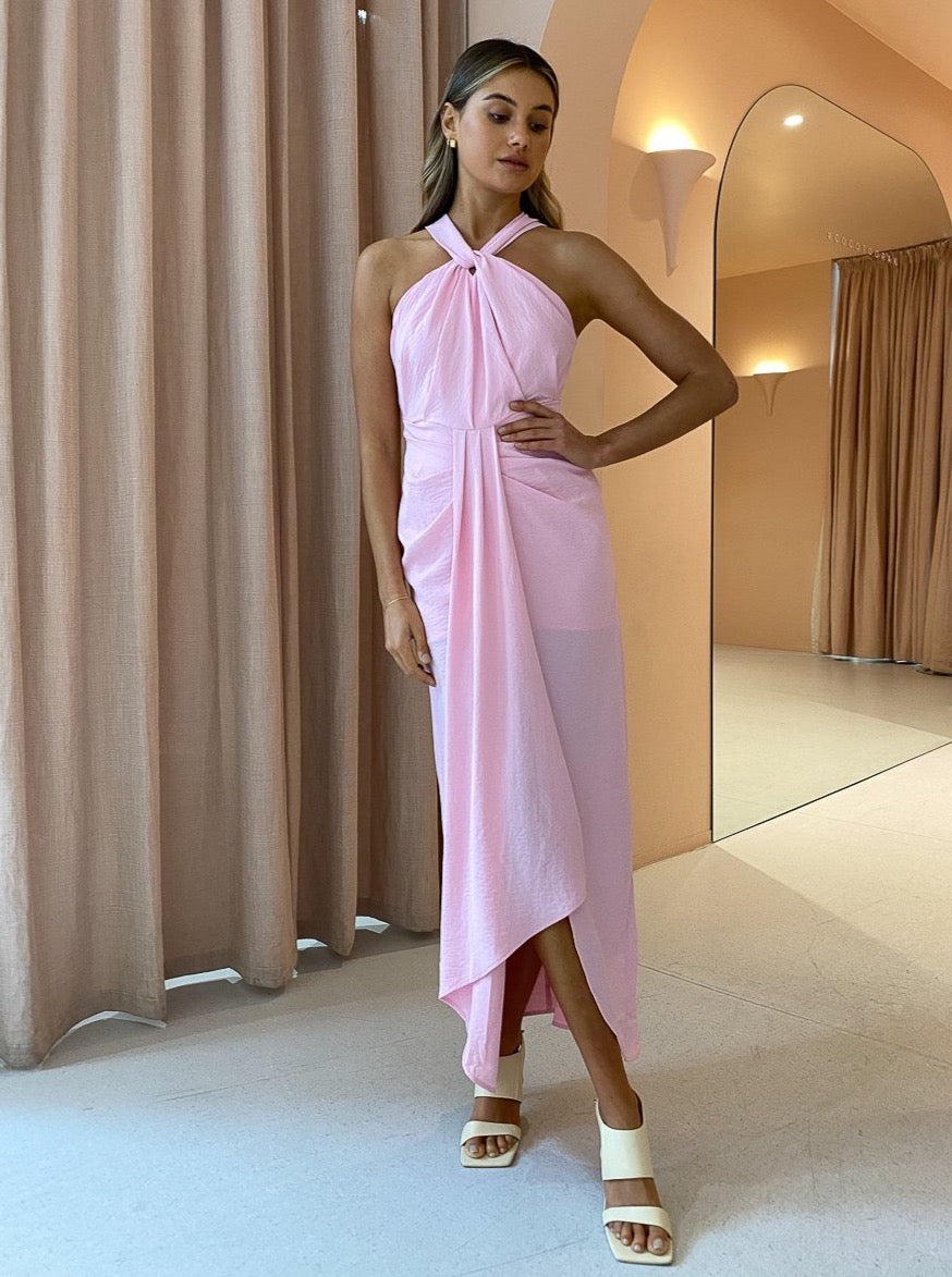 Significant Other Milly Dress In Blush