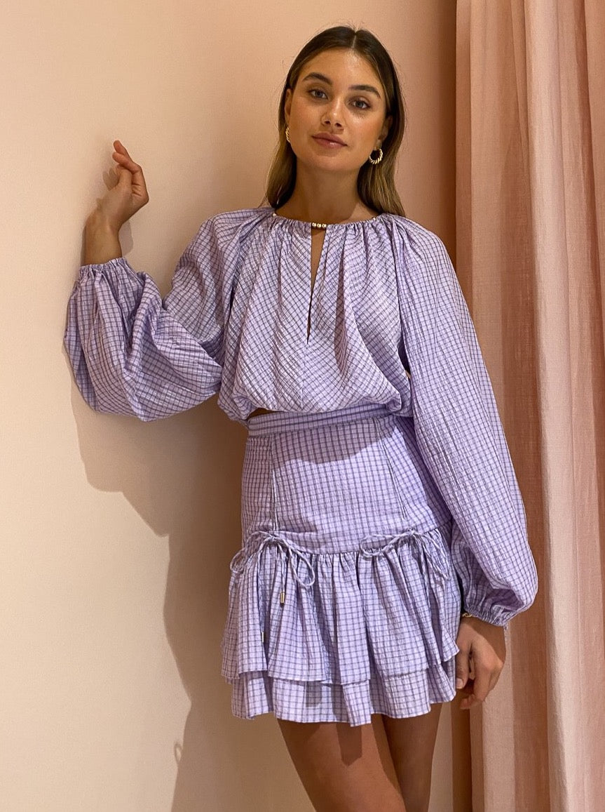 Significant Other Florence Skirt in Lilac