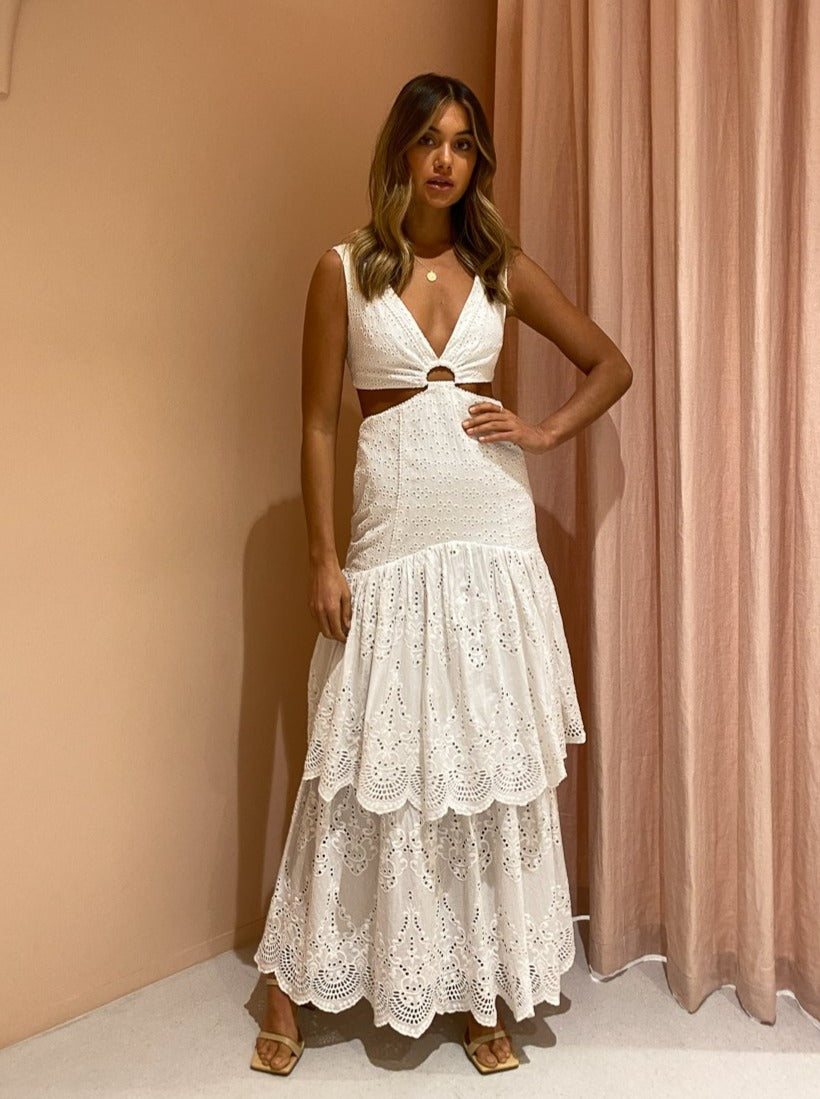 Significant Other Juliette Dress In Ivory