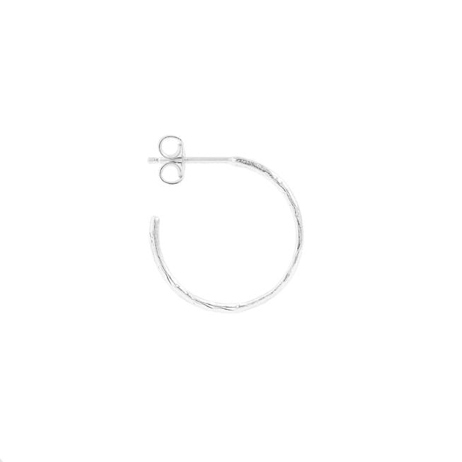 By Charlotte Silver Devotion Hoops in Silver