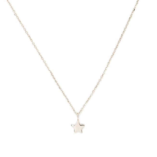 By Charlotte Silver Star Necklace in Silver