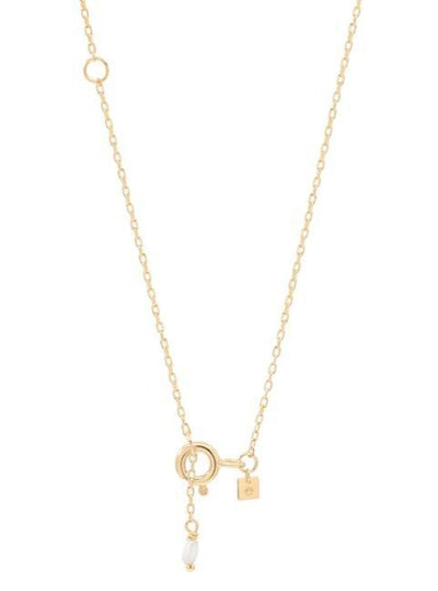 By Charlotte 14k Gold Love N Necklace in Gold