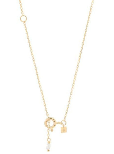 By Charlotte 14k Gold Love J Necklace in Gold
