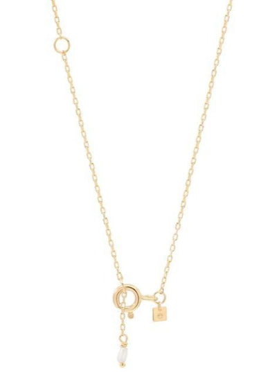 By Charlotte 14k Gold Love F Necklace in Gold