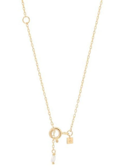 By Charlotte 14k Gold Love L Necklace in Gold