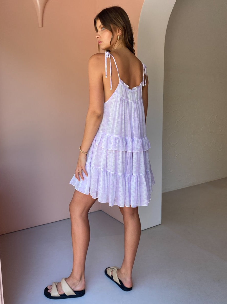 Steele Pallas Dress in Lavender Mist