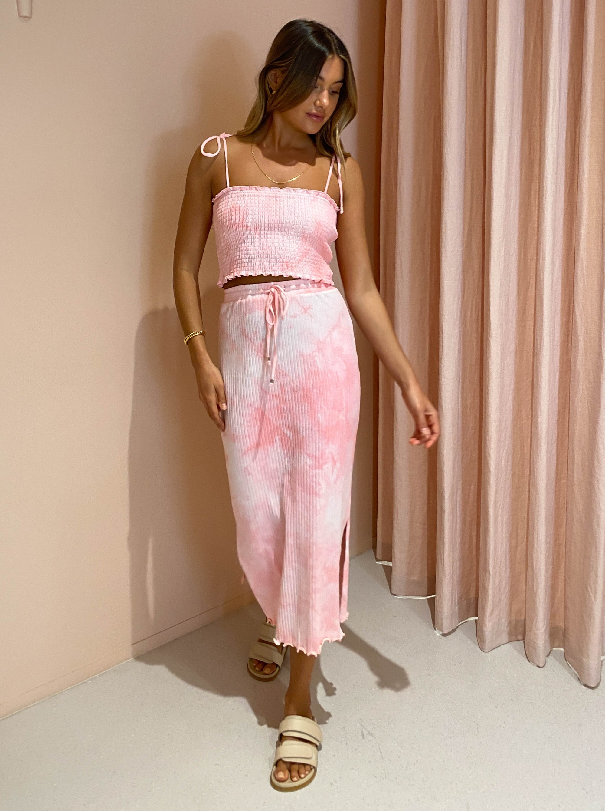 Steele Dione Skirt in Rose Wash
