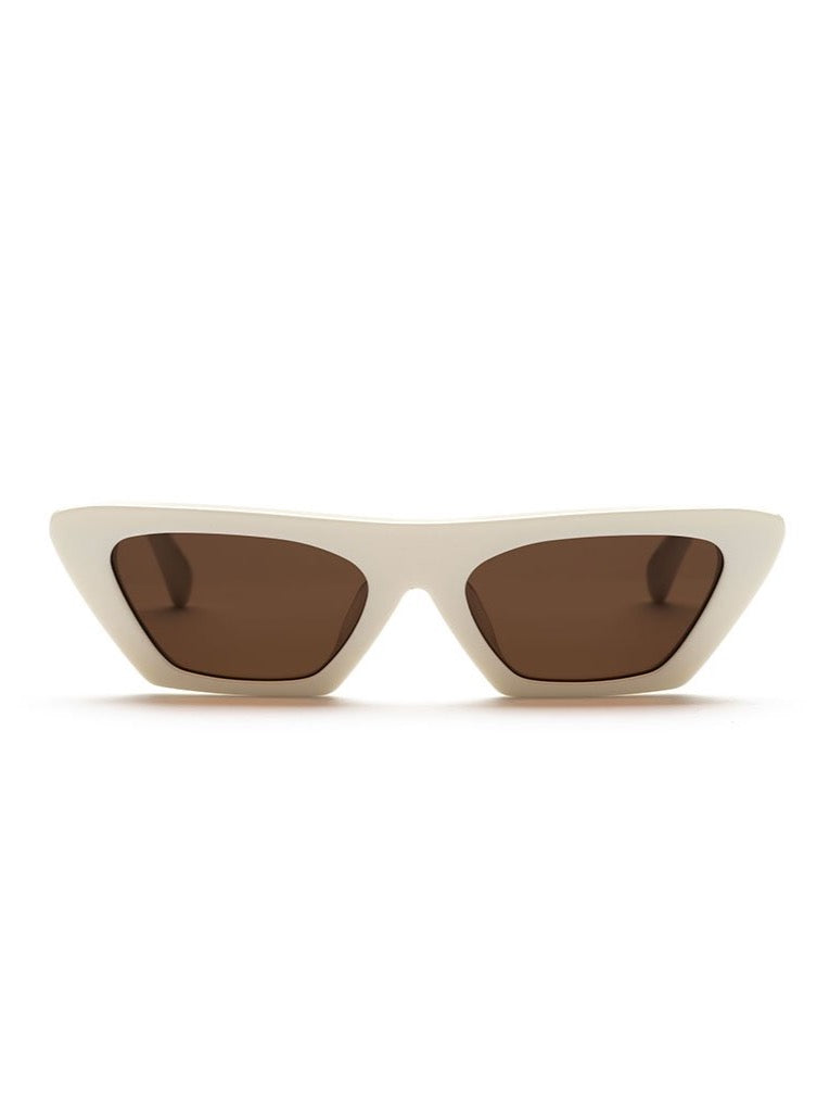 Alias Mae Leila Sunglasses in Bone