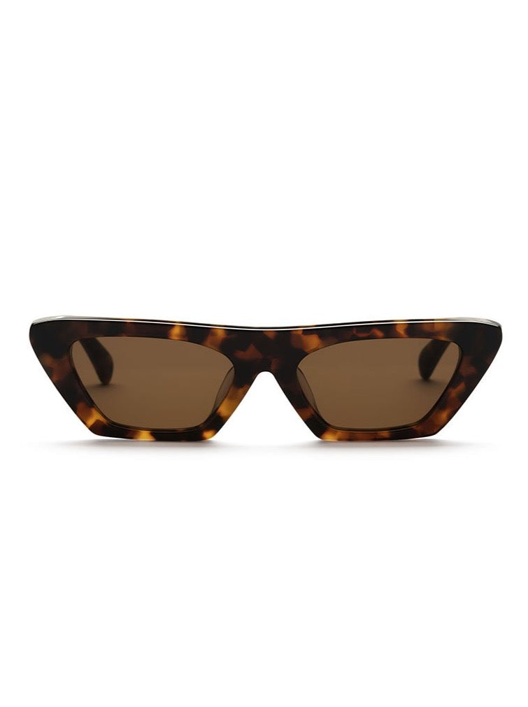 Alias Mae Leila Sunglasses in Tortoise