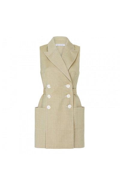 Camilla and Marc Aline Vest Dress in Cardamom