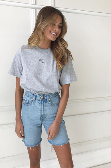 Camilla and Marc George Tee in Grey Marle