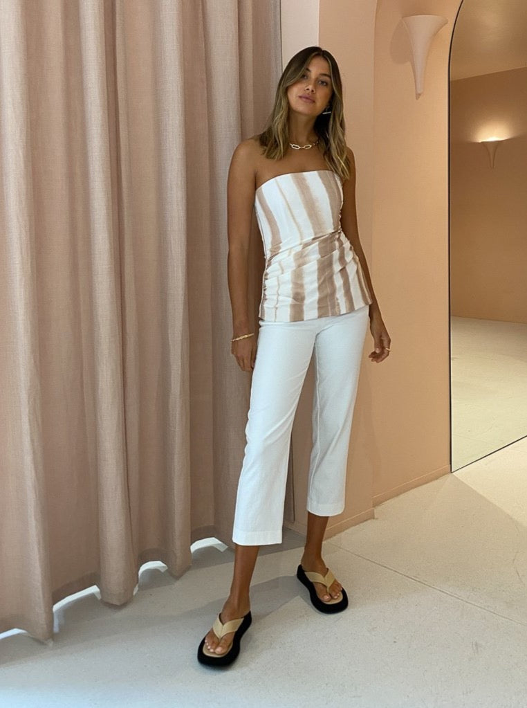 Viktoria & Woods Foreign Pant in Ivory