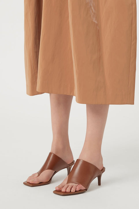 Camilla and Marc Harper Mule in Tan