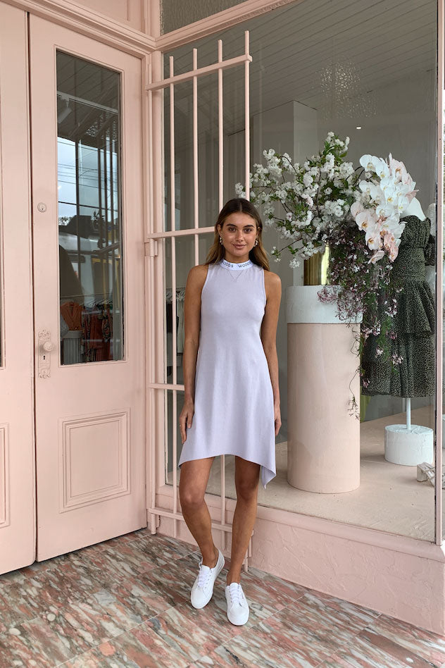 Viktoria and Woods Sonnet Dress in Marble