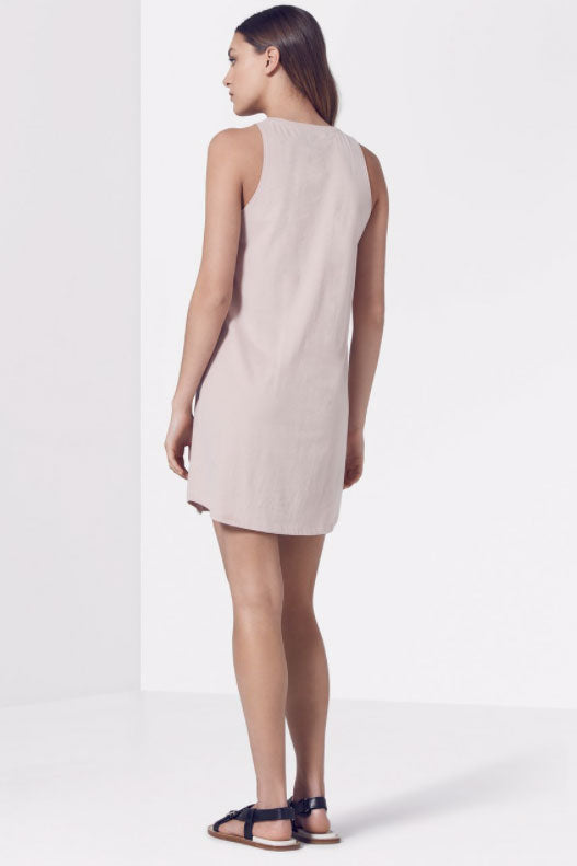 Viktoria and Woods Anniversary Tank Dress in Sepia