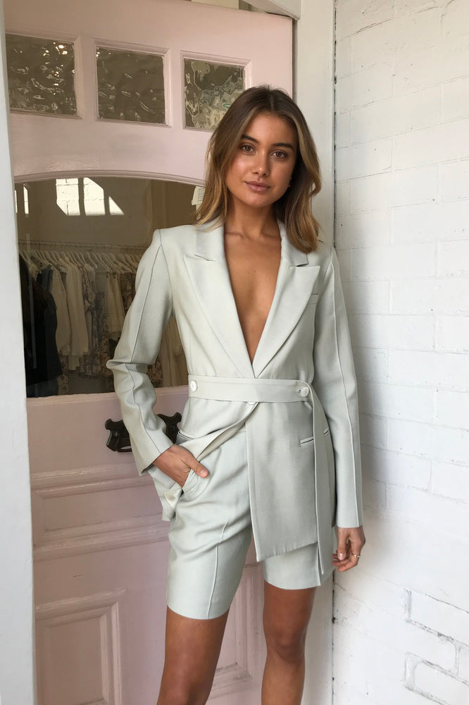 Viktoria and Woods Everglade Blazer in Foam