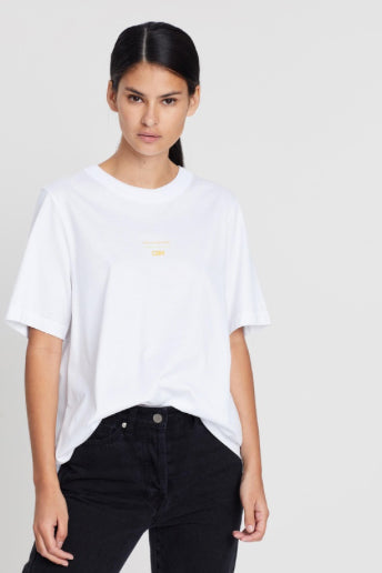 Camilla and Marc Geneva Tee in White