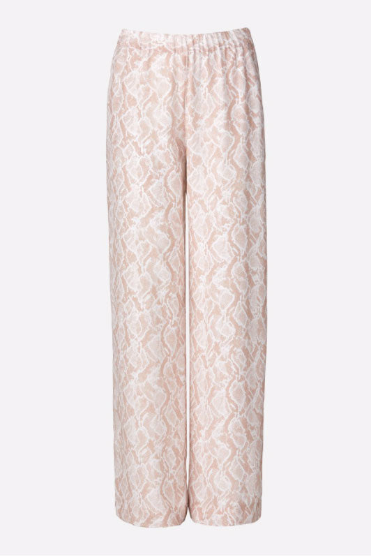 Viktoria and Woods Pilot Pant in Snake Print
