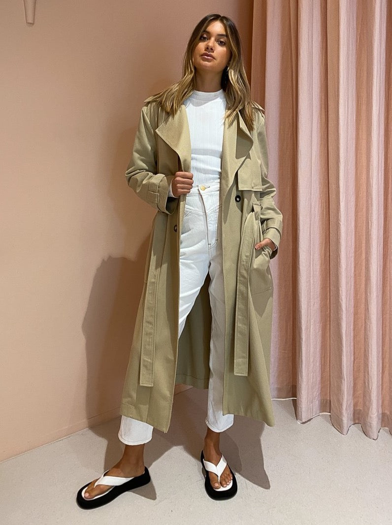 Bec & Bridge Maral Coat in Beige