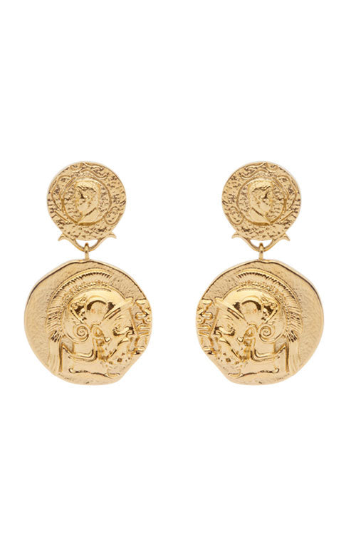 Amber Sceats Jordyn Earrings in 24K Gold Plated