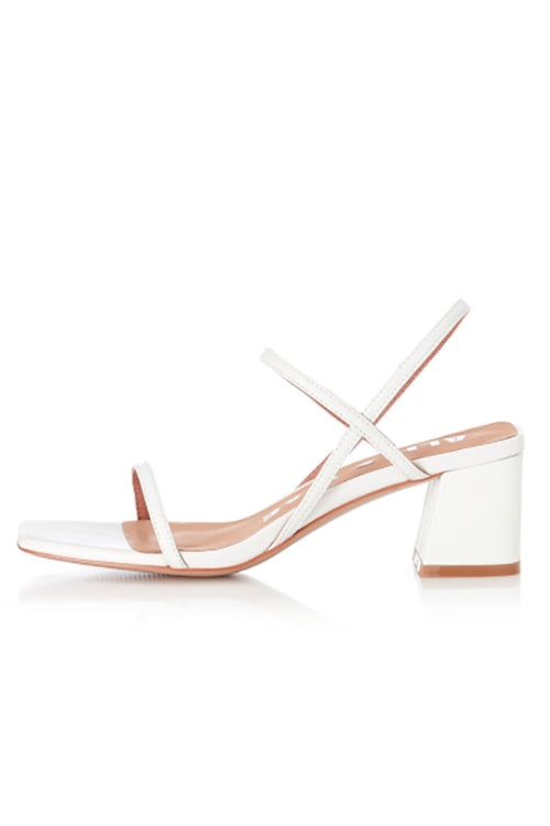 Alias Mae Henri Heel in Ivory Leather