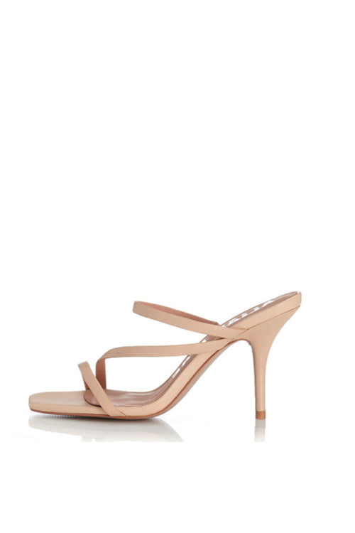 Alias Mae Mollie Heel in Natural Leather