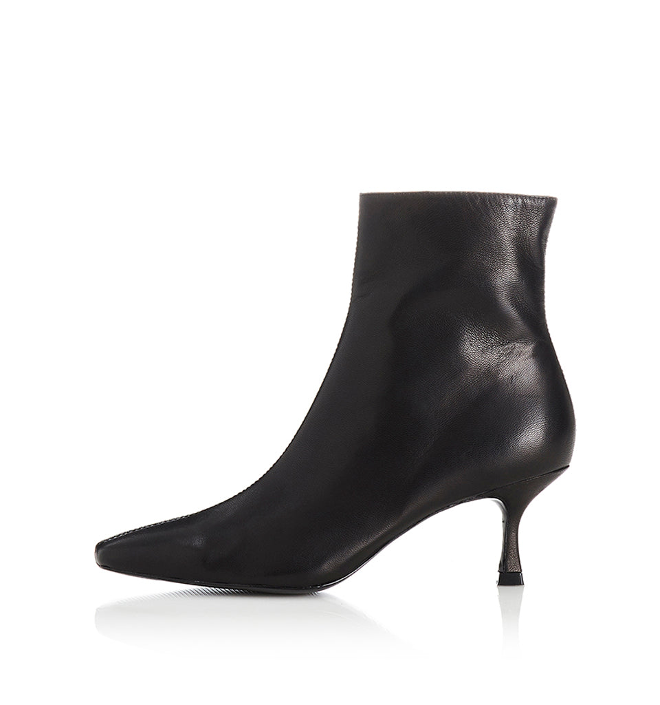 Alias Mae London Boot in Black Leather