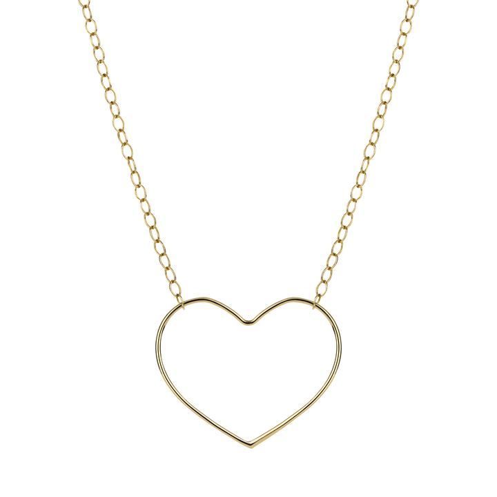 Elvis et Moi Petit Coeur Necklace in Gold
