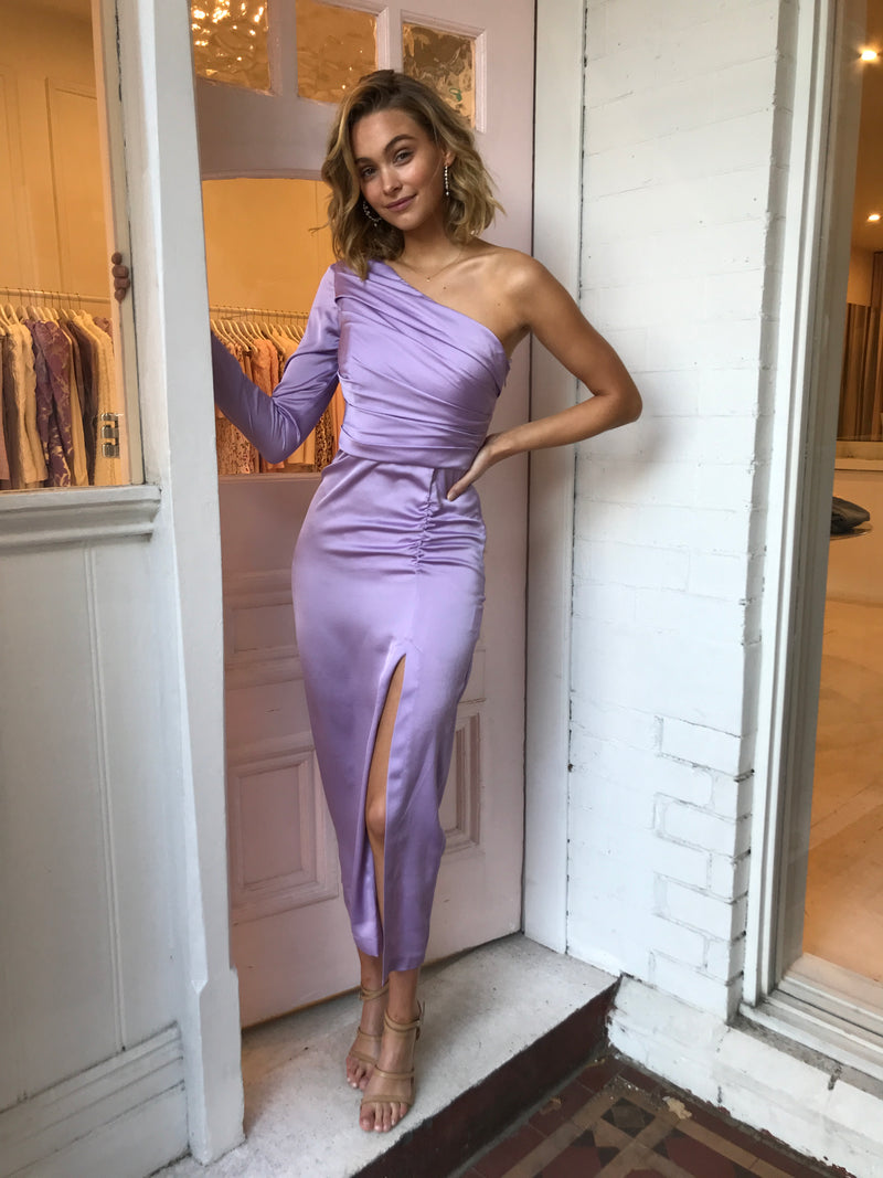 Nicola Finetti Jordan Dress in Lilac