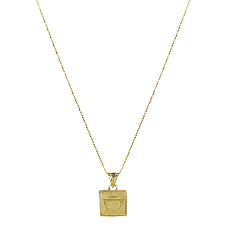 Brie Leon Valores Pendant in Gold/Connection