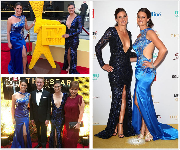 Celebrity Stack Wilburn at Logies 2019 in Style 5023 Royal Blue