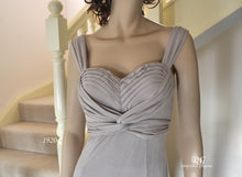 Load image into Gallery viewer, Sweetheart Neckline Top with Wide Straps Top Style 1920 in Taupe Size 8