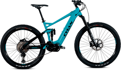 E-Mountainbike Fully von CYLAN-ROCK FLY 10