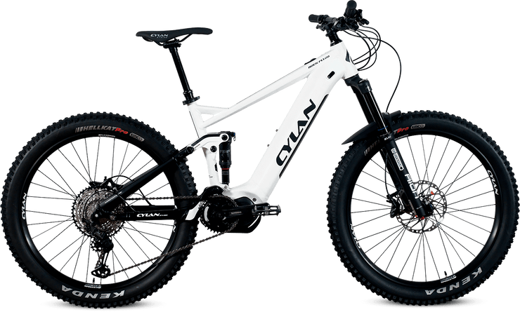 Das ROCK FLY 20 E-Mountainbike Fully von CYLAN