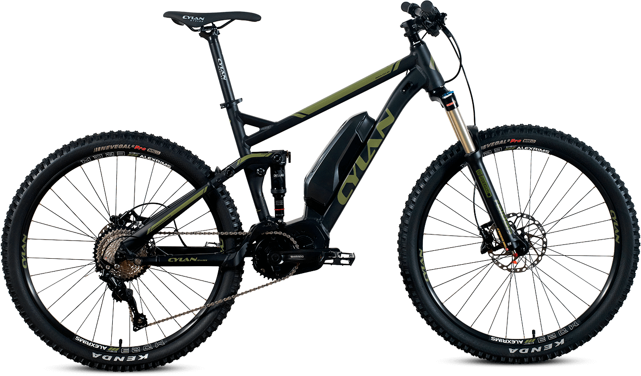 ROCK FLY 30 E-Mountainbike FULLY von CYLAN