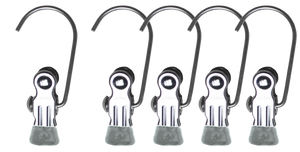 MAWA - K/1 Single Clip Set of 5, Silver