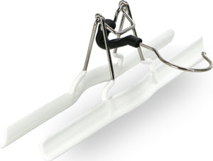 MAWA - M/26 Pant Clamp Hanger, White