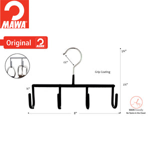 MAWA GH - Belt/Jewelry Hooks, Black