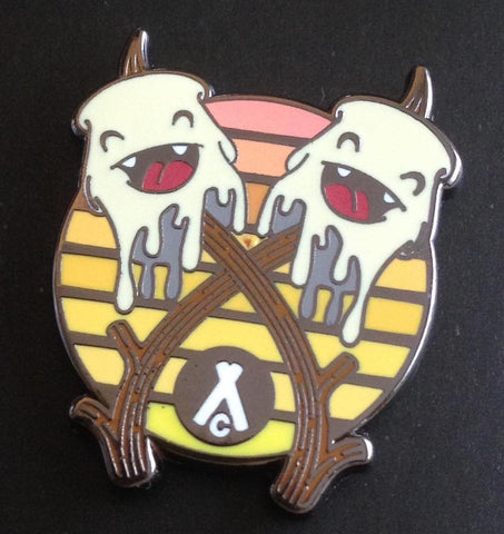 Limited Edition Campfire X Uh Oh Toasted Mallow Pin