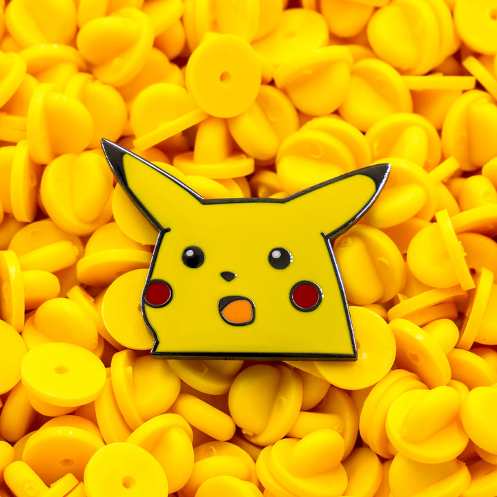 Surprised Pikachu Enamel Pin