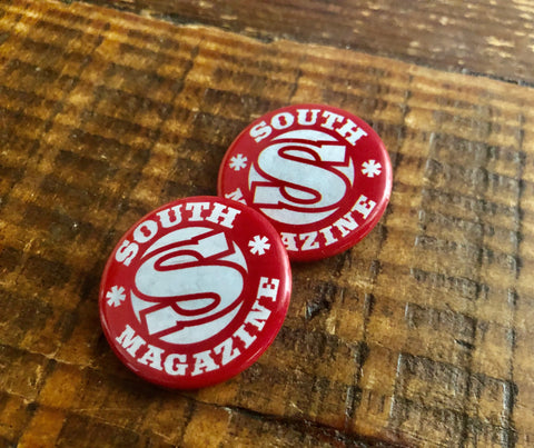 Vintage South Small Button