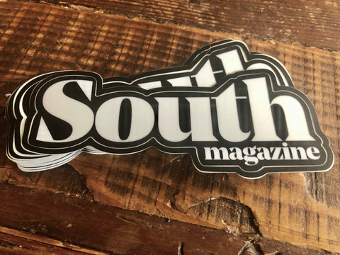 The South Magazine Masthead Sticker