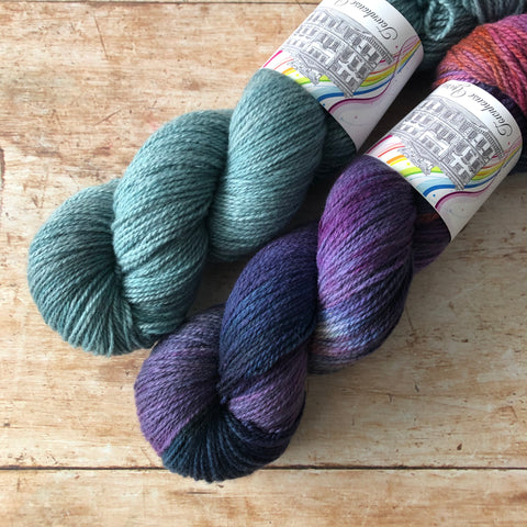 Malahide Sweater - Kit Size 2 to 6 - Myrtle & Polarize Pre order